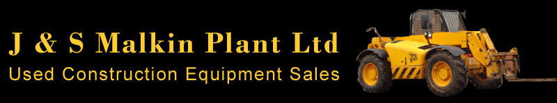 Used Construction Equipment Sales - J & S Malkin Plant Ltd